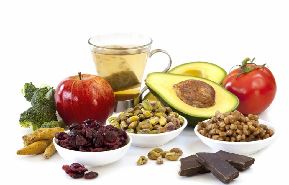IKKE SAMME SAK: Hvor du får antioksidantene dine fra spiller inn på hvor effektive de er. Foto: Getty Images/iStockphoto