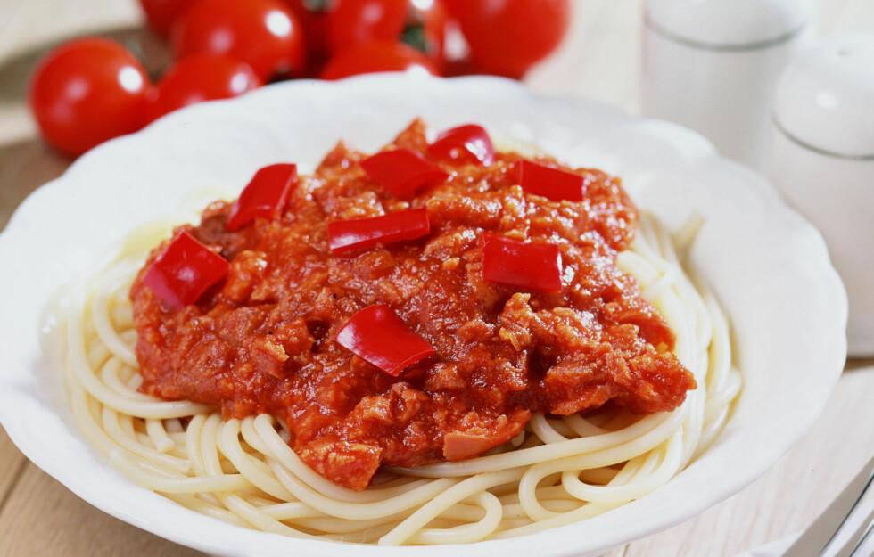 SPIS MER TOMATER: En ny studie viser at tomater kan redusere risikoen for hjertesykdom på grunn av det høye innholdet av lykopen - som du også finner i ketsjup og pastasaus.  Foto: Thinkstock.com