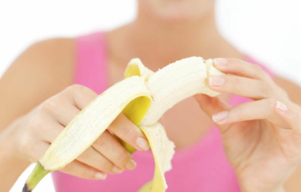 <strong>FJERNER VORTER:</strong> Sover du med bananskall på føttene kan dette fjerne fotvortene dine.  Foto: Getty Images