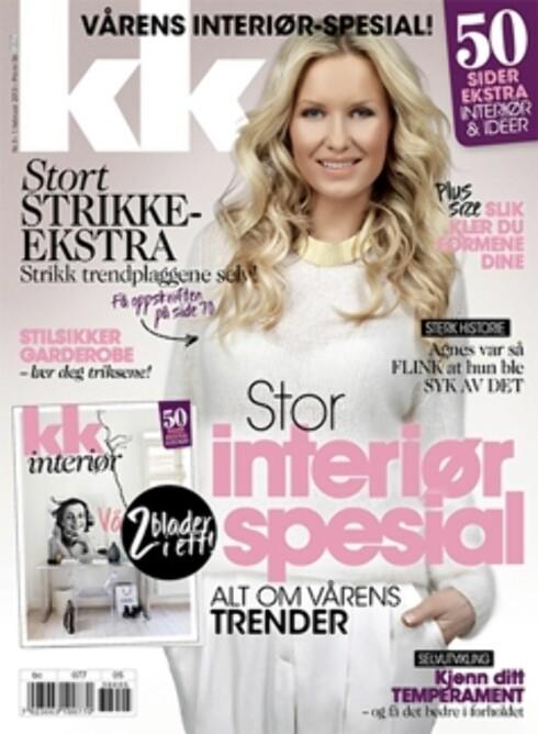 STYLIST OG VENNINNE: Hedda Skoug, Tones stylist og venninne, pryder denne ukens cover av KK - som kommer i salg førstkommende fredag.