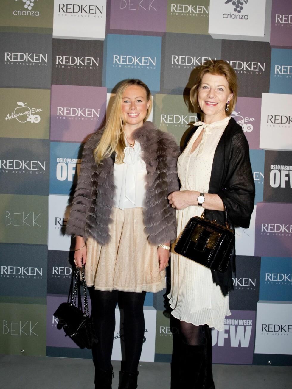 Mille Marie Treschow og datteren Victoria. Foto: Sara Johannessen