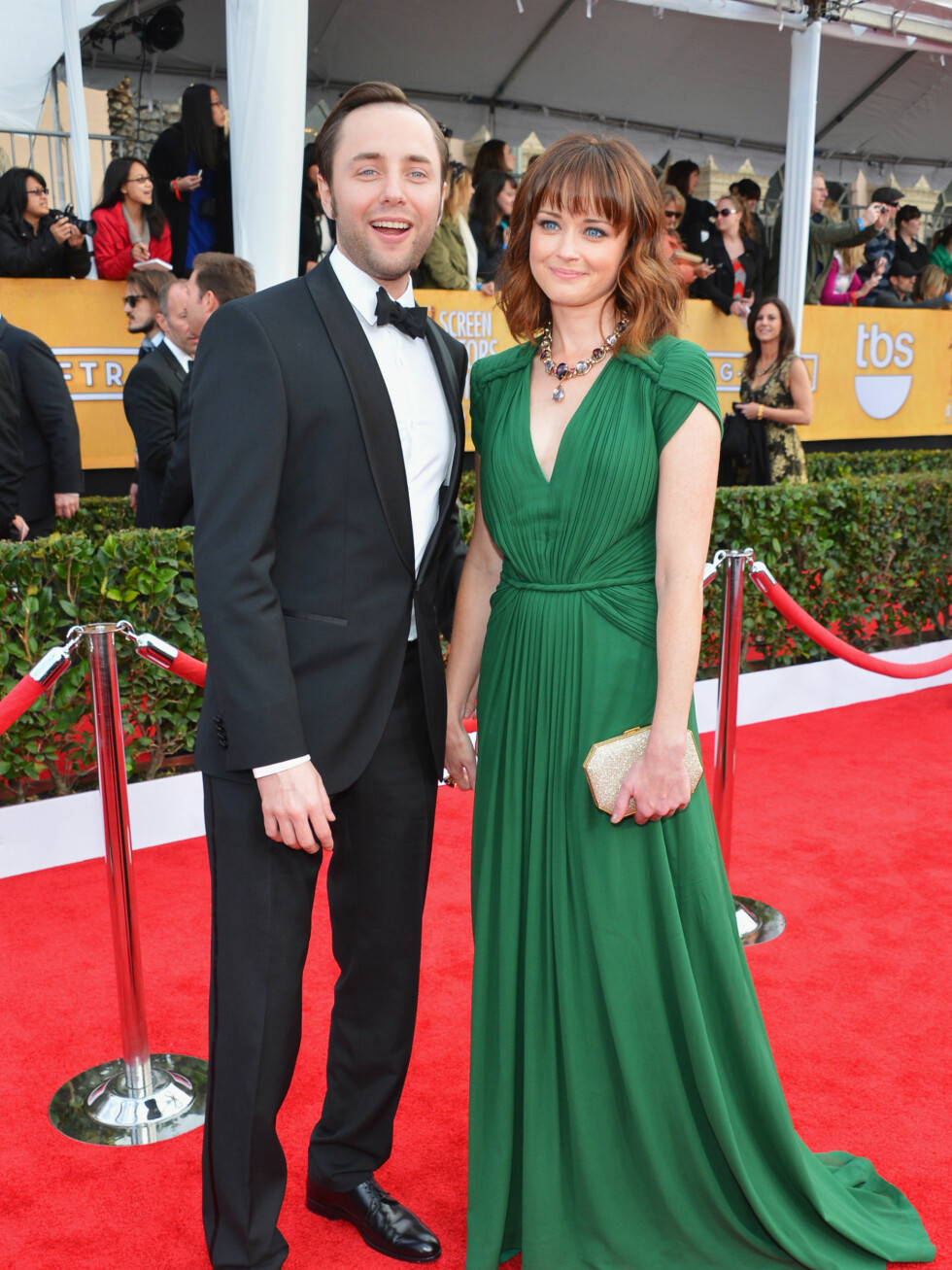 Vincent Kartheiser og Alexis Bledel Foto: All Over Press