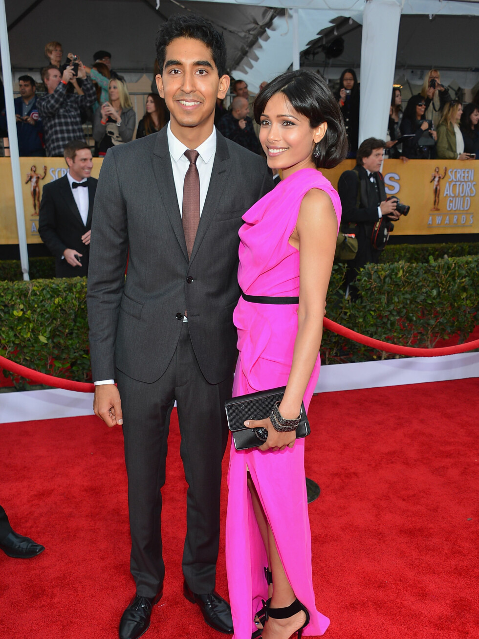 Dev Patel og Freida Pinto Foto: All Over Press