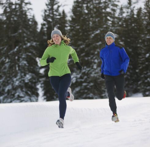<strong>FIN TRIM:</strong> Jogging eller løping er en super aktivitet, men den forbrenner ikke så mye som du kanskje tror. Foto: Thinkstock