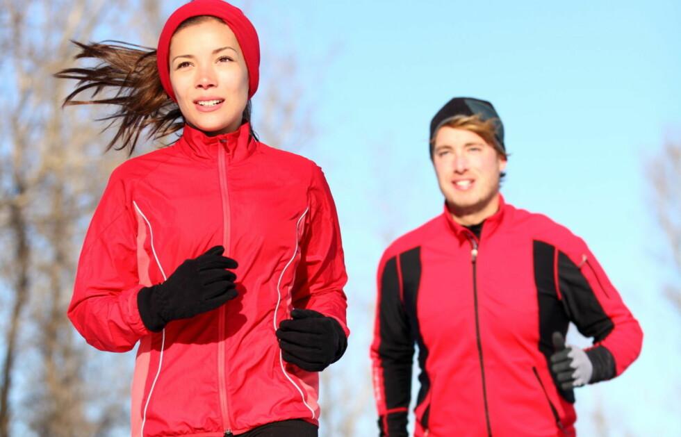 MÅ TRENE MER: Siden menn har mer muskler enn kvinner, går de fortere ned i vekt når de trener. Foto: thinkstock.com