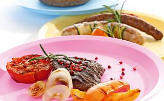 Legg bort plastserviset når maten er varm