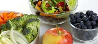 Så mye frukt og grønt trenger du daglig
