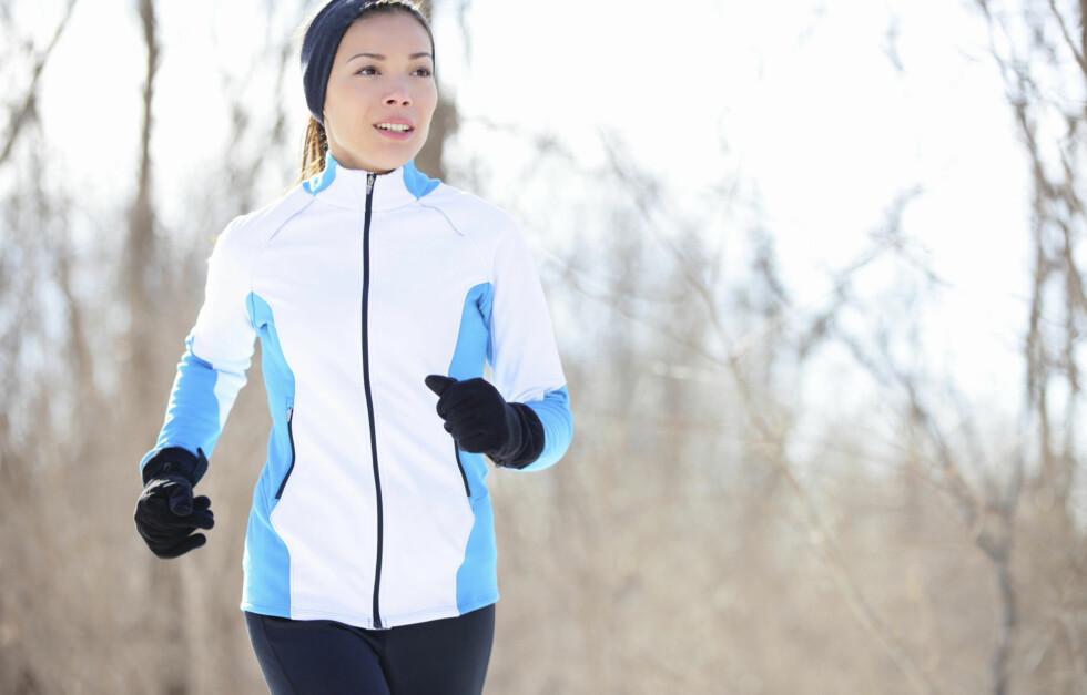 TREN FØR FROKOST: Trener du på tom mage kan du forbrenne mer enn du ville gjort etter frokost. Foto: Thinkstock.com
