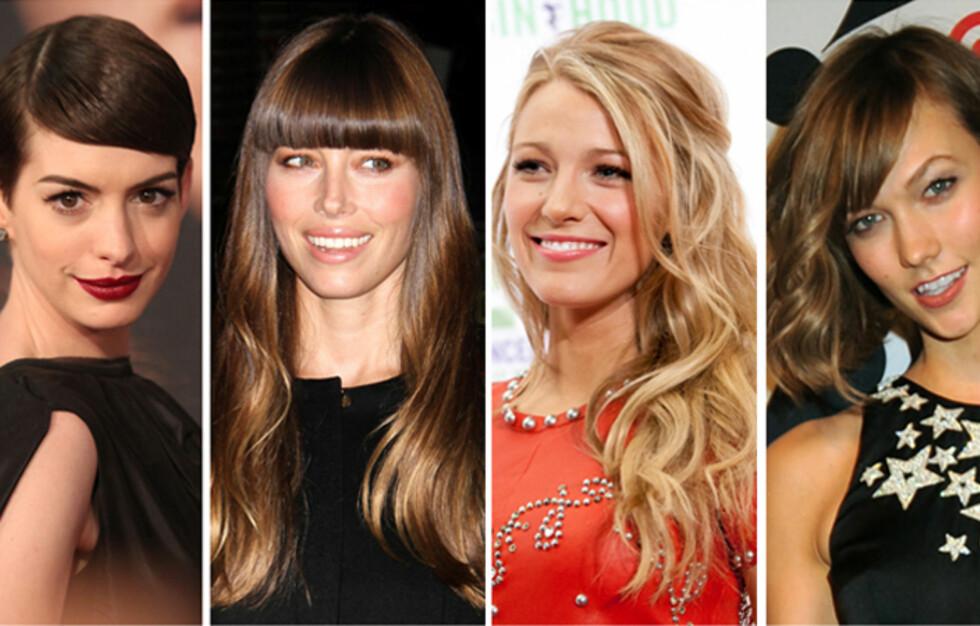<strong>VAKKERT:</strong> Om håroljen brukes riktig, kan håret se fantastisk vakkert ut! Her er noen av kjendisene som sverger til håroljen. Foto: All Over Press