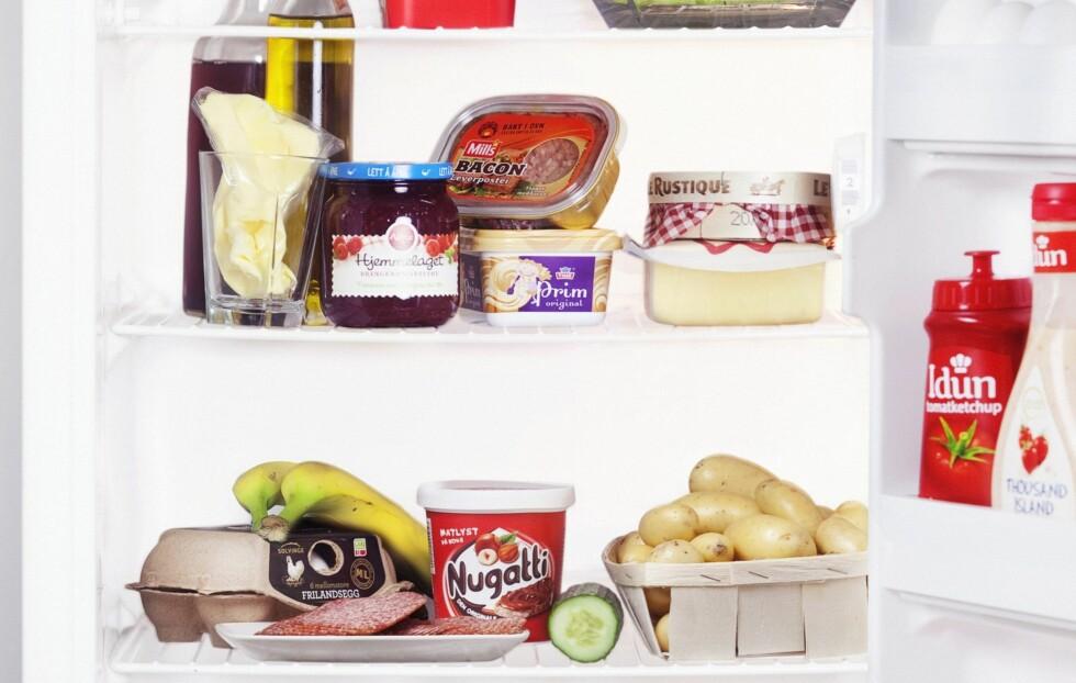 Ser kjøleskapet ditt slik ut? Ta en liten rydderunde, hr skal noe stemmes ut! Foto: All Over Press Norway