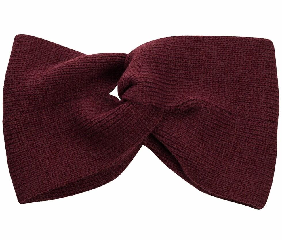 Dixie pannebånd i burgunder. Fås hos nelly.com til 199 kroner.  Foto: Produsenten