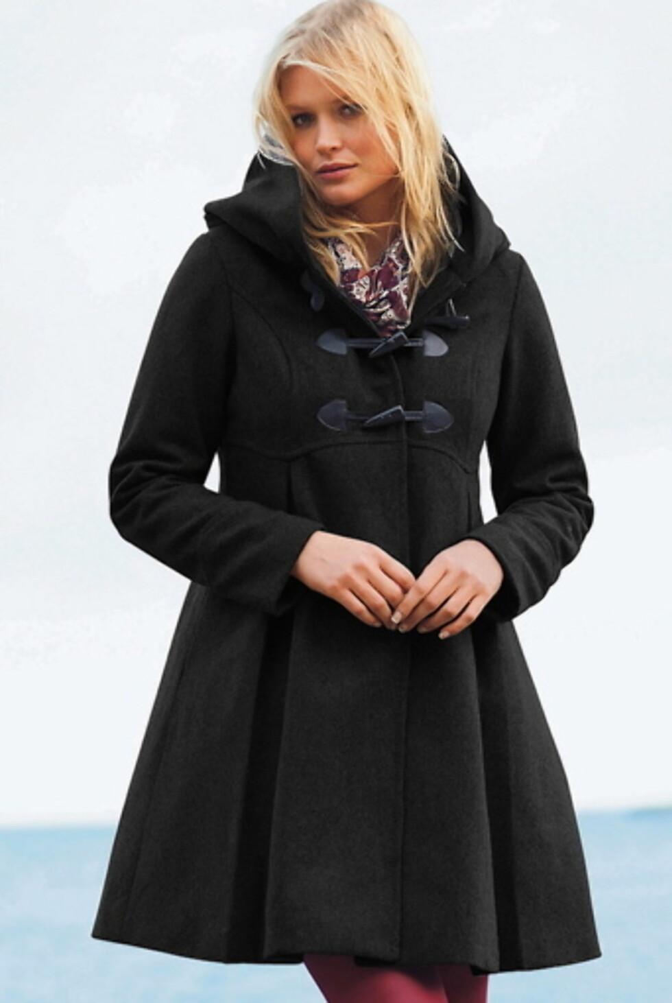 Sort jakke fra Dyffel. Fås i sort og grå på Ellos.no kr 1079,- Foto: Produsenten