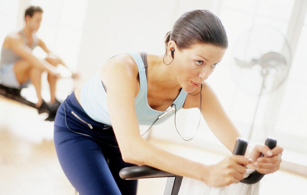 MAKSPULS: Ved å finne ut hva makspulsen din ligger på, kan du (med en pulsklokke) følge med på intensiteten du har under treningen. Dette kan være med på å øke treningseffekt og kondisjon/utholdenhet.  Foto: All Over Press