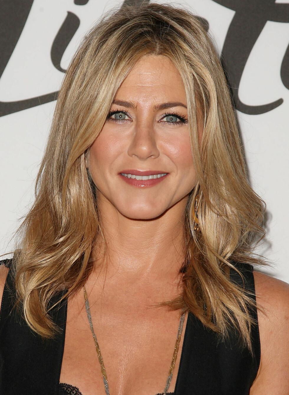 Jennifer Aniston er også fan av helt alminnelig vaselin. Foto: All Over Press