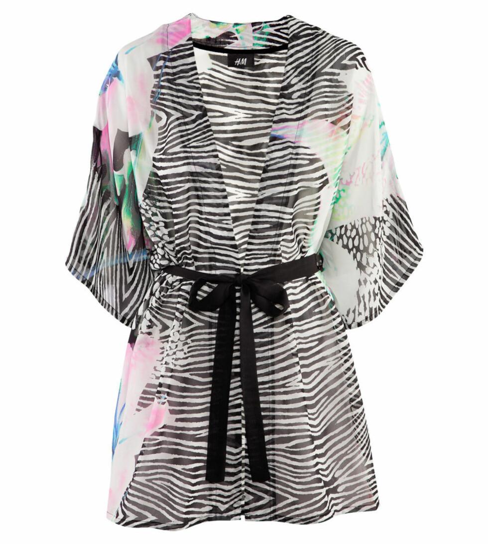 Florlett kimono (kr 199/H&M). Foto: Produsent