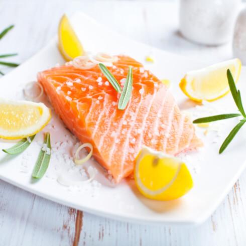 FIN FISK: Laks gir deg både vitamin A og D, jern og selvsagt omega 3. Foto: Getty Images/iStockphoto