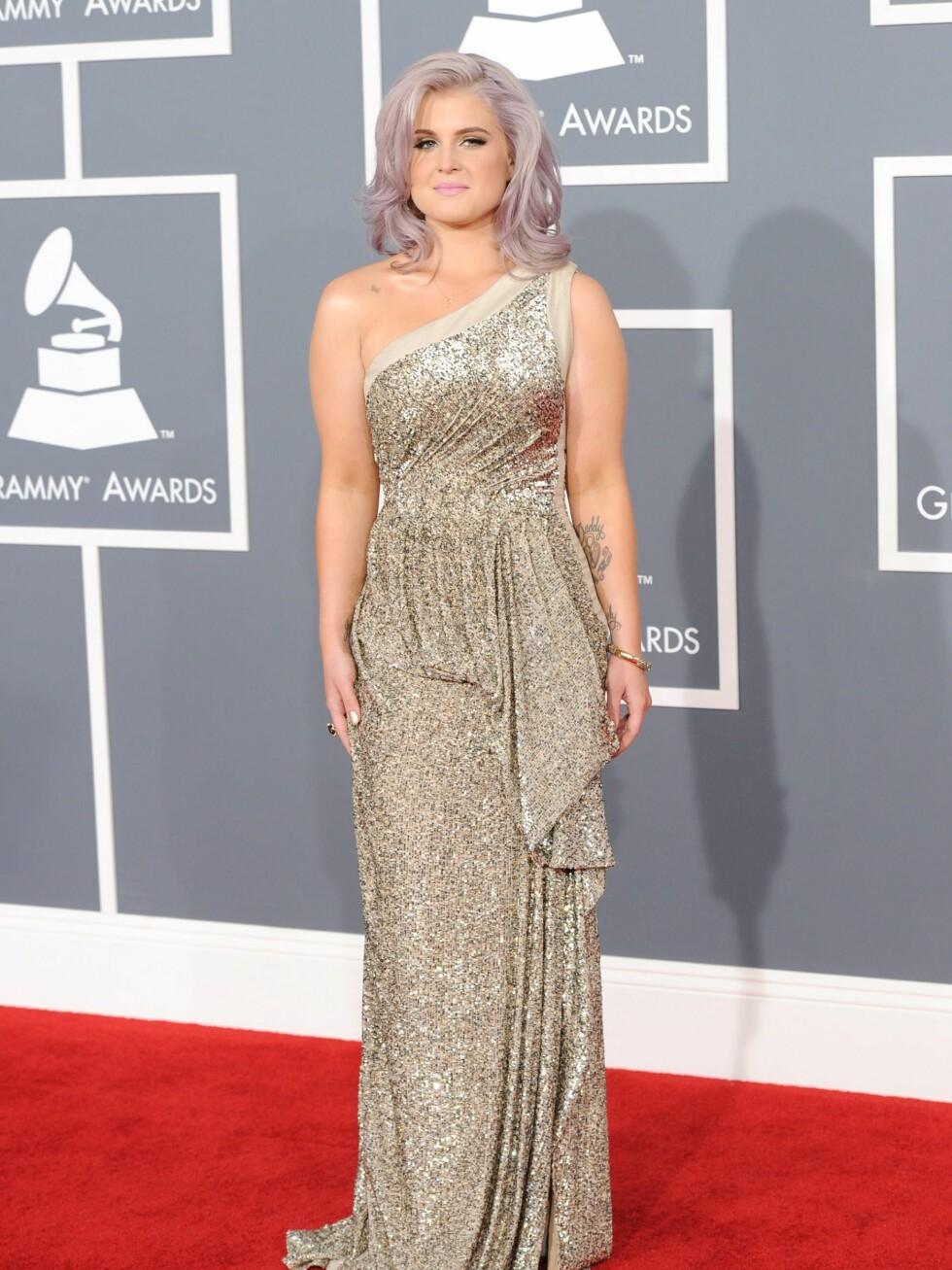 Nå vekker Kelly Osbourne oppsikt av andre grunner.  Foto: All Over Press