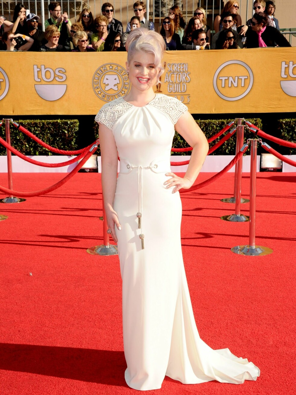 LOS ANGELES, CA - JANUARY 29:  TV personality Kelly Osbourne arrives at the 18th Annual Screen Actors Guild Awards at The Shrine Auditorium on January 29, 2012 in Los Angeles, California.  (Photo by Jason Merritt/Getty Images) By: All Over Press / Getty Images CODE: GE01X8 Foto: All Over Press