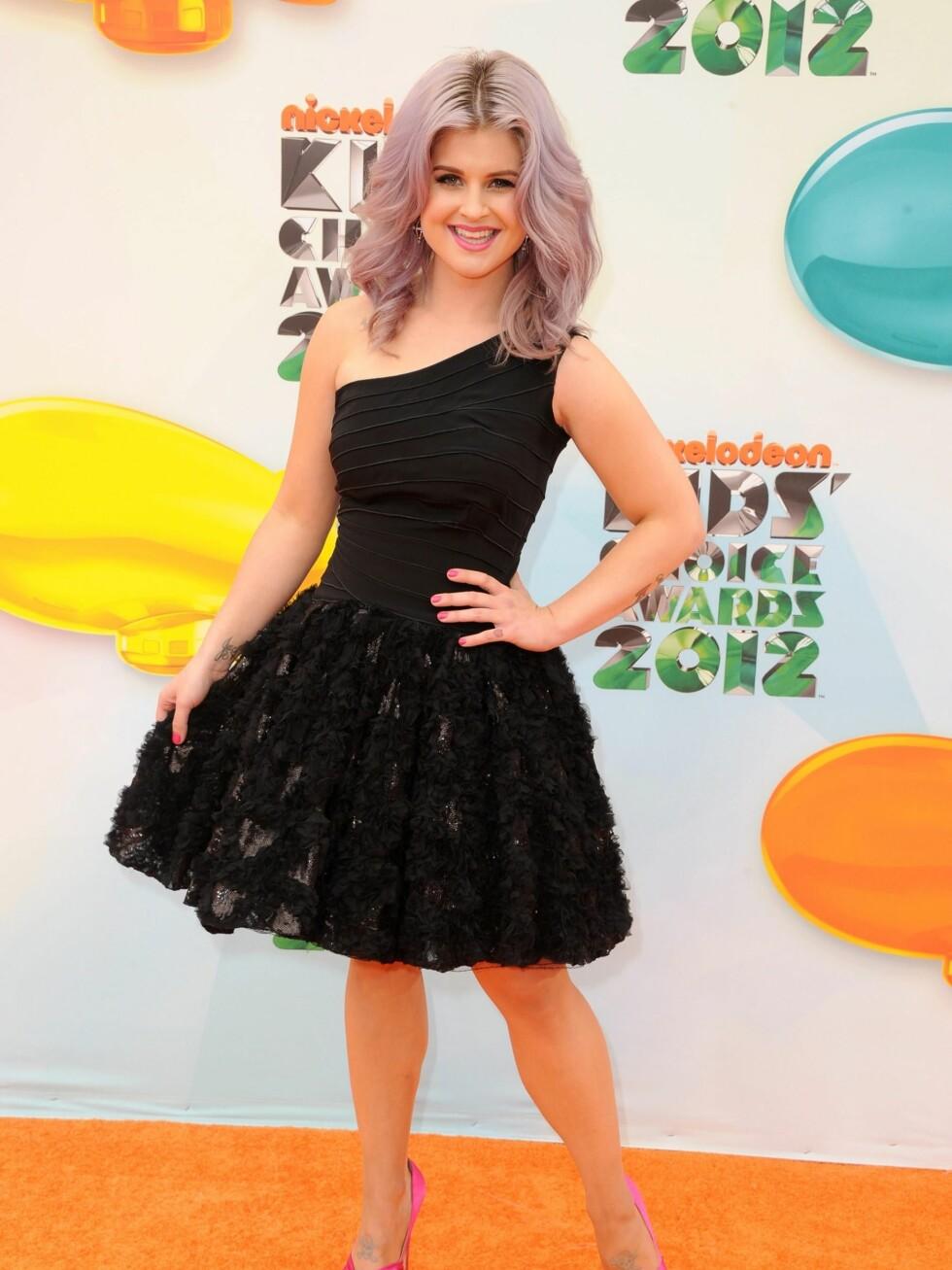 På Nickelodeons Kids Choice Awards i Mars 2012. Foto: All Over Press
