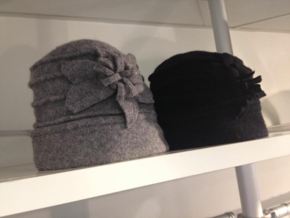 <strong>HATTER:</strong> Perfekte å kombinere med jakkene fra Sentimental Journey-kolleksjonen.