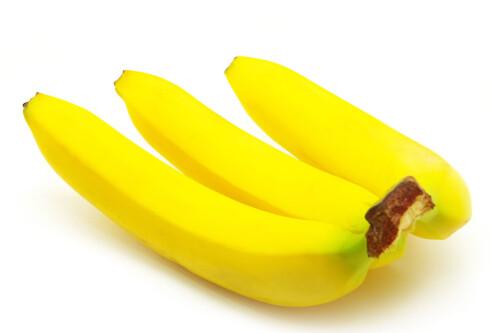 DIN VENN: Bananen er fin for å holde fordøyelsen fornøyd. Foto: Thinkstock