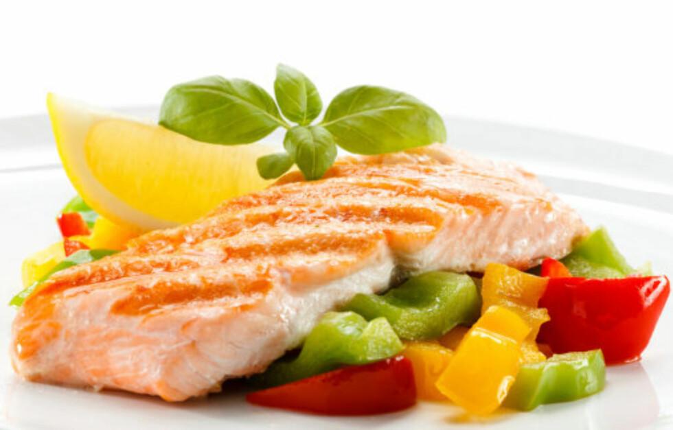 BRA FOR HELSA: Laks inneholder mye vitamin D som bidrar til å styrke immunforsvaret.  Foto: Getty Images/iStockphoto