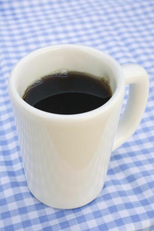NEI TIL KAFFE: Ligg unna koffeinholdig drikke på kvelden. Foto: Thinkstock