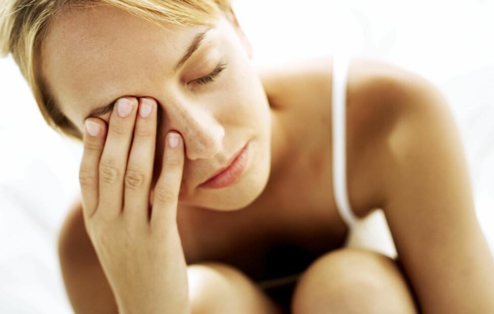 TRØTT I TRYNET?: Ikke ta sovepiller før du har prøvd naturlige metoder. Foto: Getty Images