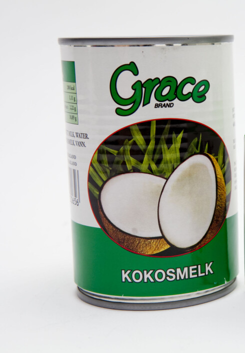 KLIN KOKOS: Suppe med kokosmelk smaker veldig godt! Foto: Per Ervland