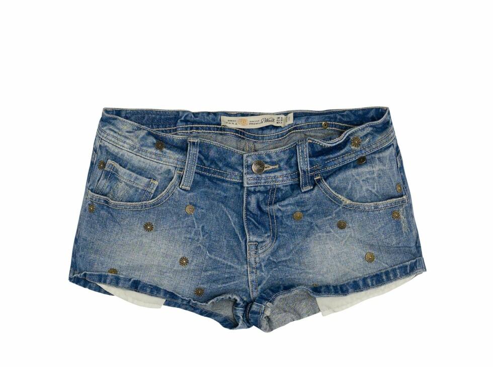 Hotpants i denim (kr 400, Zara). Foto: Produsenten