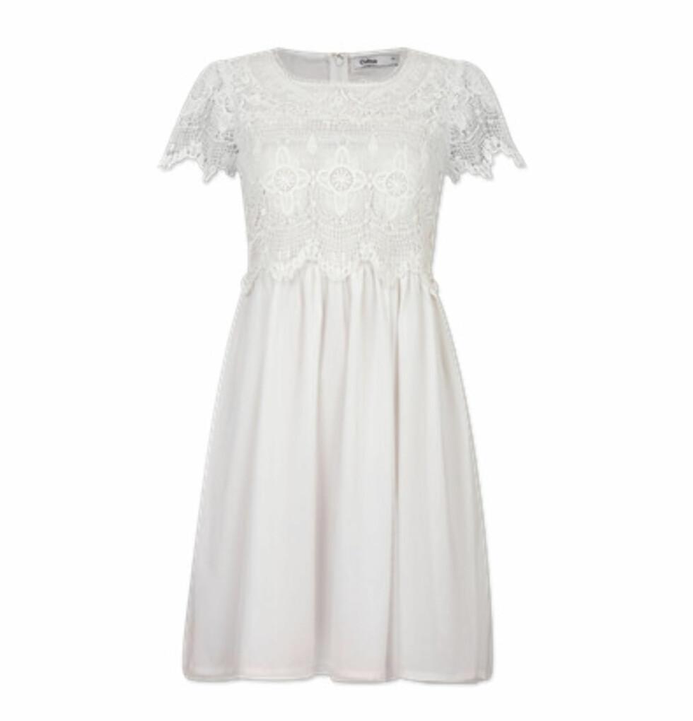 Romantisk kjole (kr 399/Cubus). Foto: Produsent