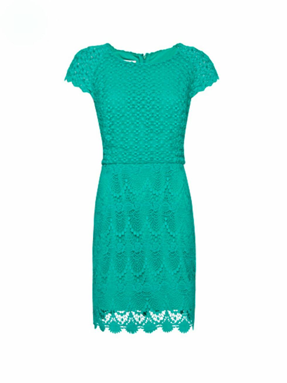 Grønn kjole (kr 699/Mango). Foto: Produsent