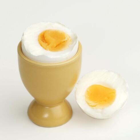 <strong>GOD START:</strong> Med protein til frokost, er det lettere å føle seg mett hele dagen.  Foto: All Over Press