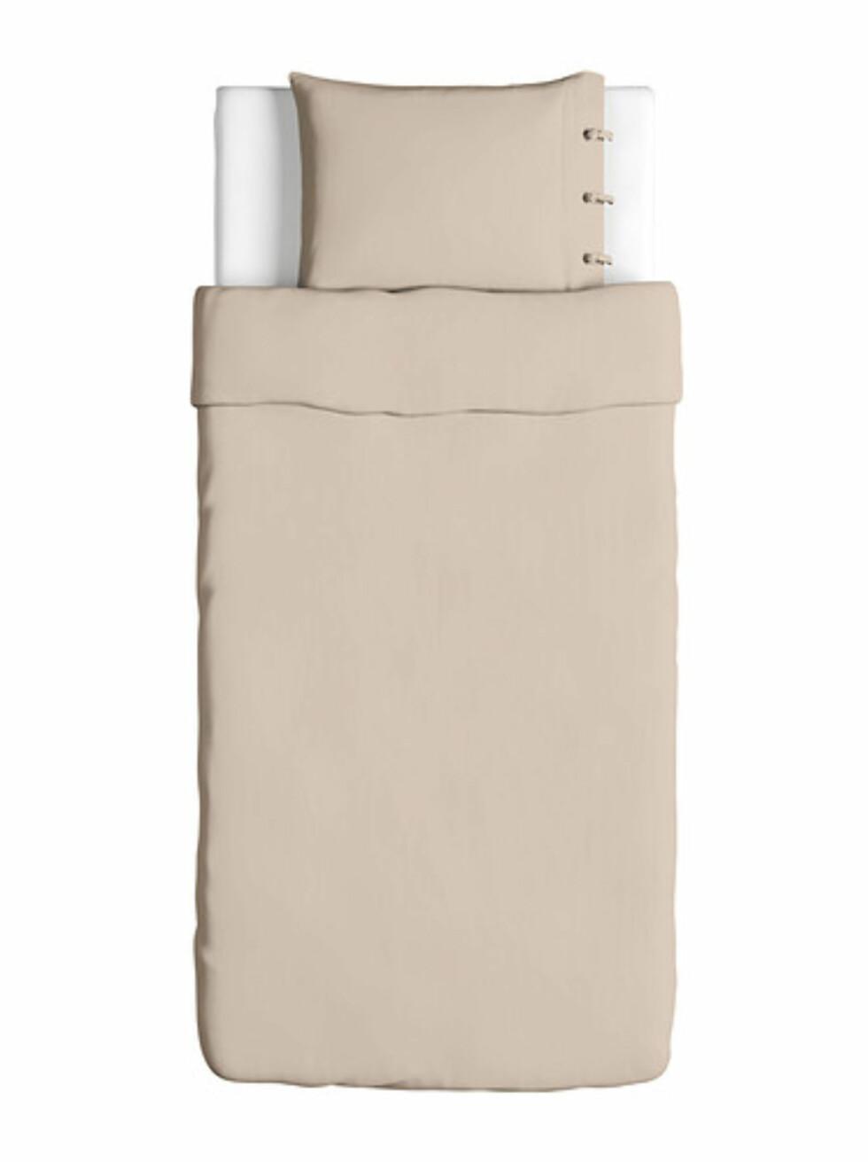 LINBLOMMA: Sengesett i lin (fra kr.398). Foto: Ikea