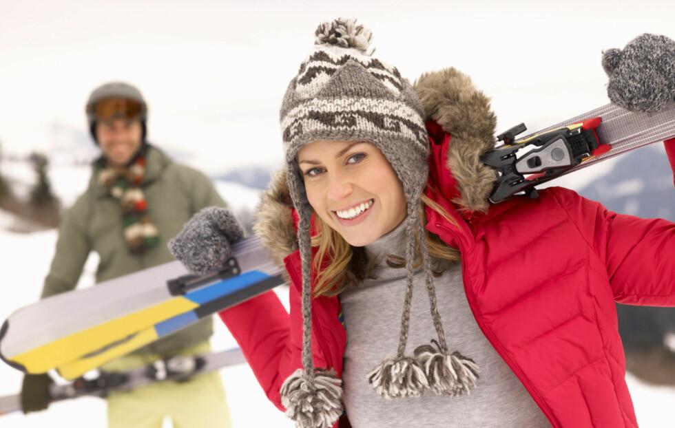 <strong>HOLD DEG VARM:</strong> Det viktigste når du går eller står på ski, er at du holder deg varm og tørr - også på beina.  Foto: Getty Images/iStockphoto