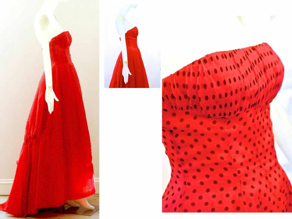 DESIGNET AV DIOR: Kjolen ble designet av Christian Dior selv, og var del av vårkolleksjonen i 1954.  Foto: All Over Press