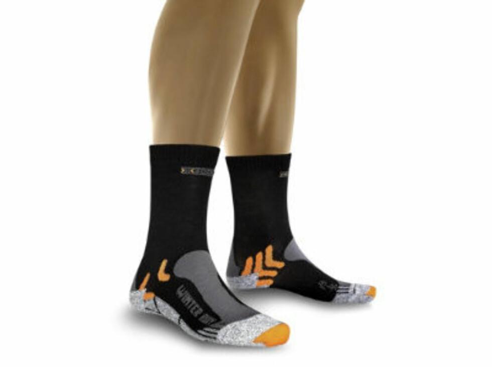 X-socks løpesokker til vinterbruk. 249 kroner fra Gsport.no.  Foto: Produsenten