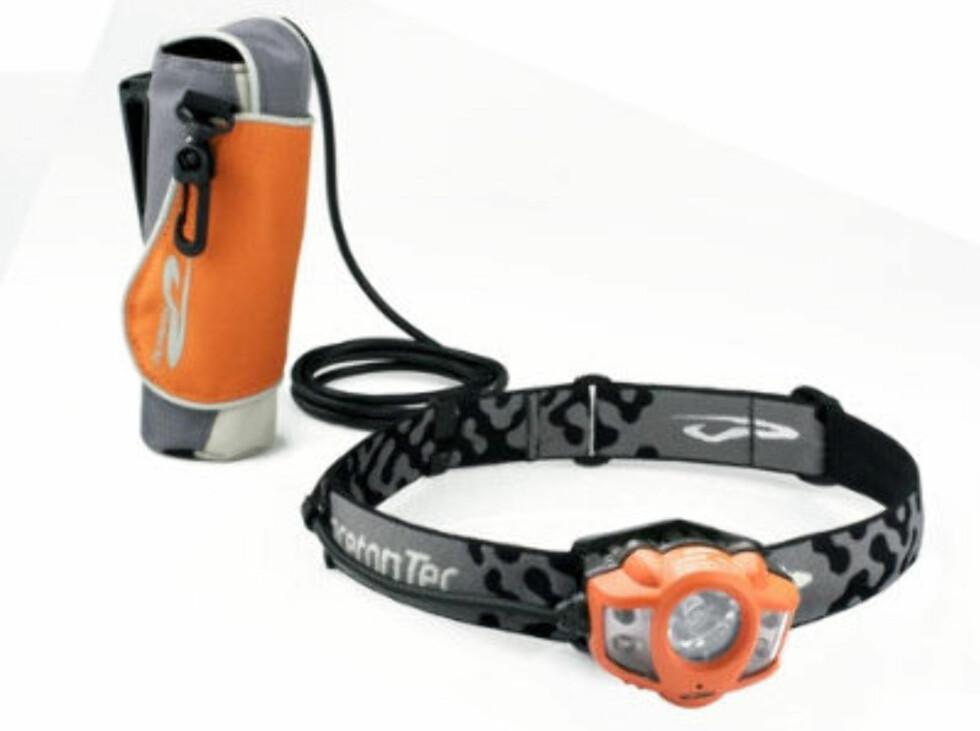 Ultrasterk hodelykt med lang ledning fra Princeton. 1099 kroner fra Gsport.no. Foto: Produsenten
