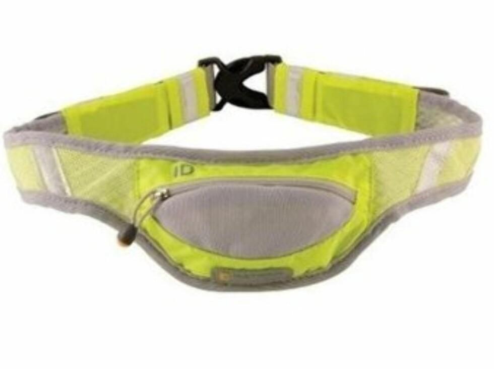Stilig refleksbelte med lomme. 370 kroner fra Loplabbet.no.  Foto: Produsenten