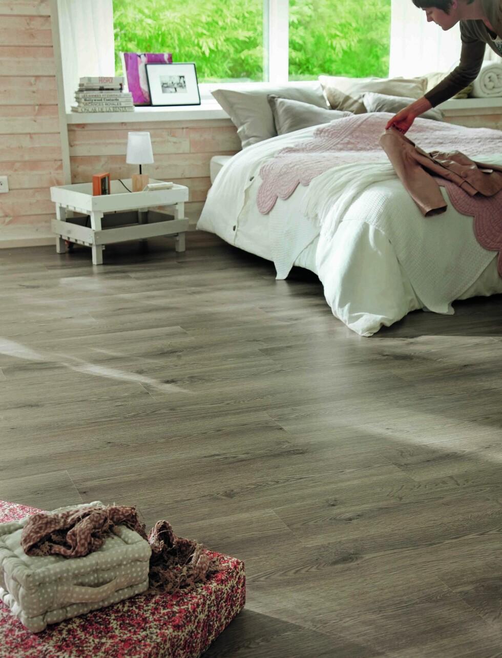 Oak Plank Grey. Foto: Tarkett