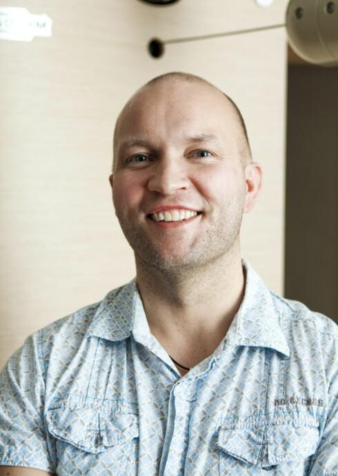 INGE THOMAS RAVLO: Er ernæringsterapeut og personlig trener, samt ernærings- og treningsfaglig ansvarlig for StudioDay-kjeden i Oslo.  Foto: Per Ervland