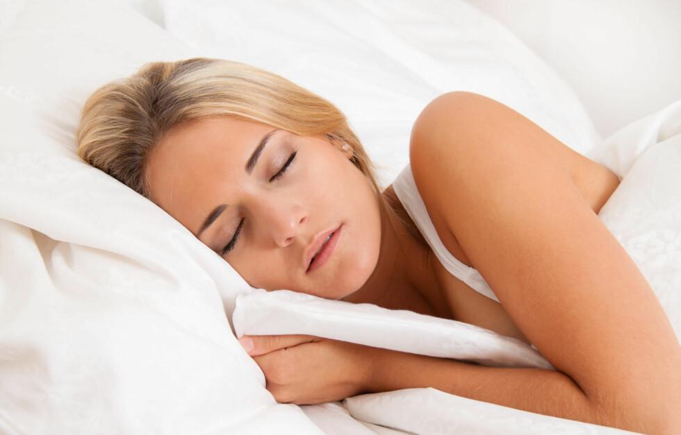 DÅRLIGERE SØVNVANER: Ifølge norske forskere har nordmenn langt dårligere søvnvaner nå, enn vi hadde i 1980.  Foto: Colourbox.com