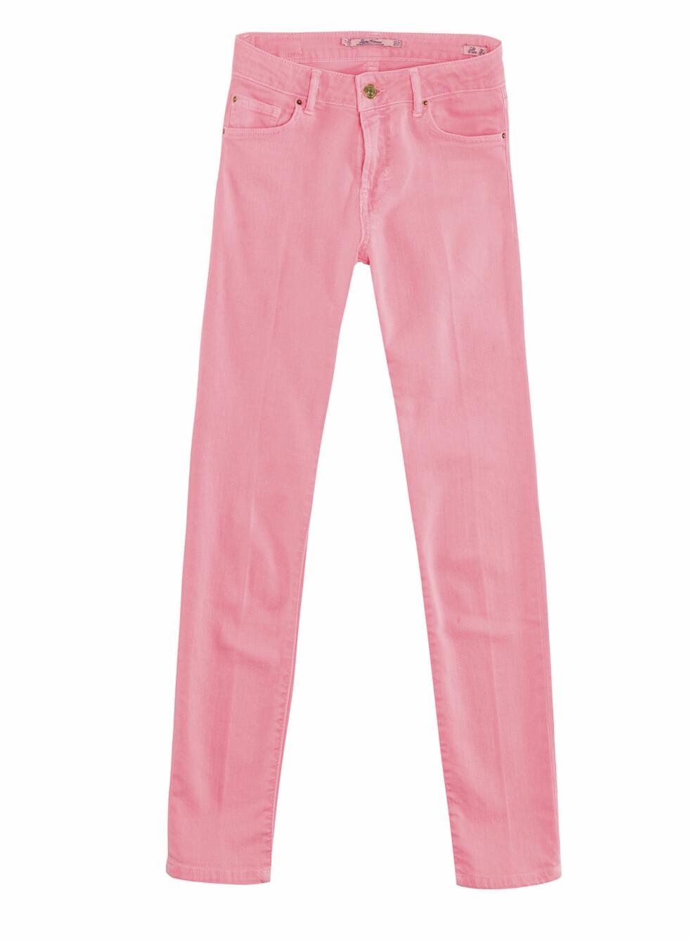 Rosa bukser (Finnes også i sort og gult/Kr.399) Foto: Zara
