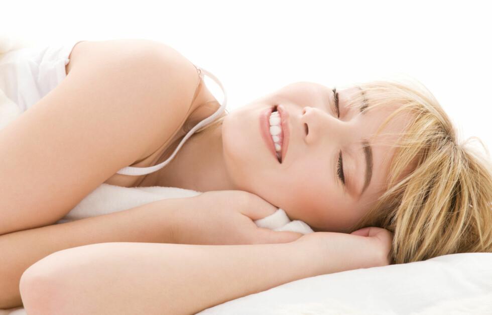 ALT MED MÅTE: Fall ikke for fristelsen til å sove lenger en natt enn omtrent gjennomsnittlig søvnlengde forrige uke.  Foto: Thinkstock