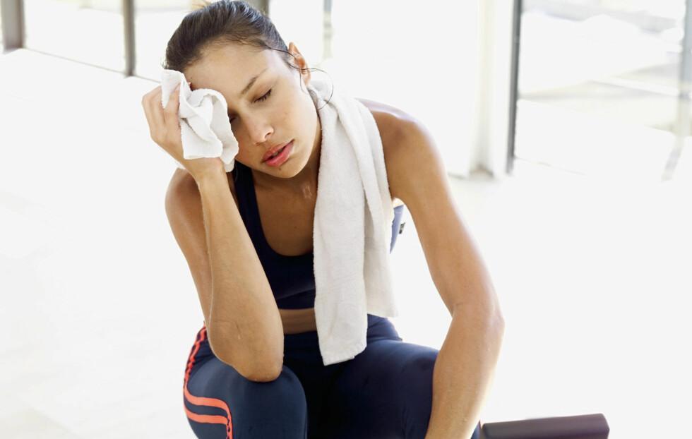 SPIS NOK: Det er viktig å få i seg nok næring i forkant av en tøff treningsøkt, eller vil du fort kunne gå på en smell underveis. Tips til hva du bør spise får du lenger nede i saken! Foto: Getty Images