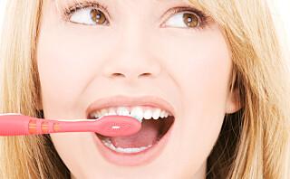 Derfor bør du ikke slurve med tannpussen