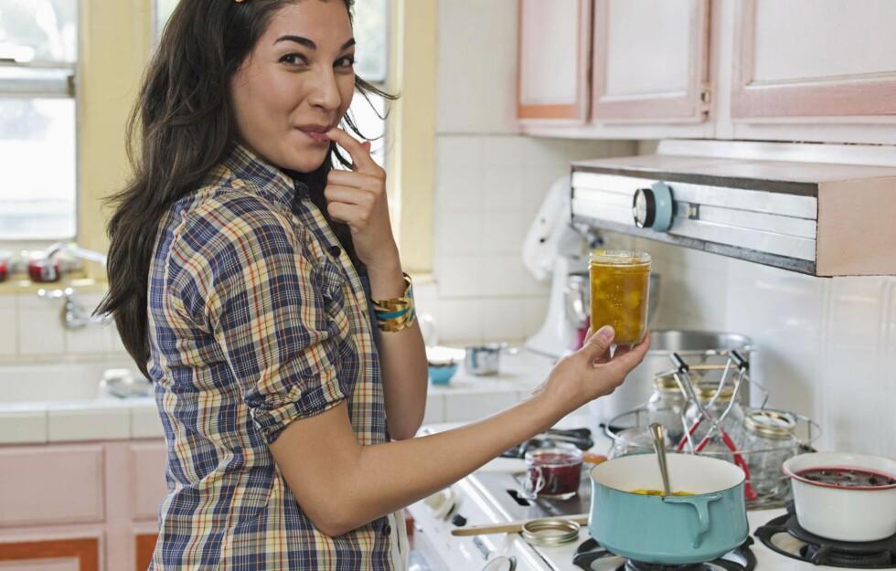 MMMM... På denne tiden av året får en hente energi der en kan. For eksempel på kjøkkenet. Foto: Thinkstock