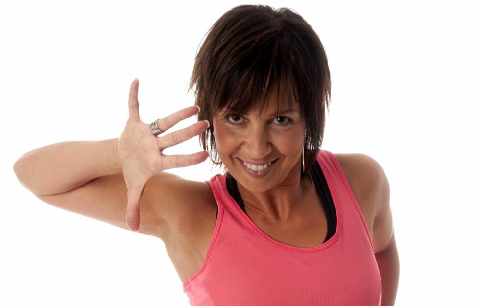 """<strong>ANBEFALER DANSING:</strong> Tidligere """"Skal vi danse""""-stjerne og proffdanser Therese Cleve råder alle til å begynne å danse mer. - Det er beintøff og god trening, sier hun til KK.no. Se hennes trenings- og motivasjonstips lenger nede i saken.  Foto: Heidi Larsen"""