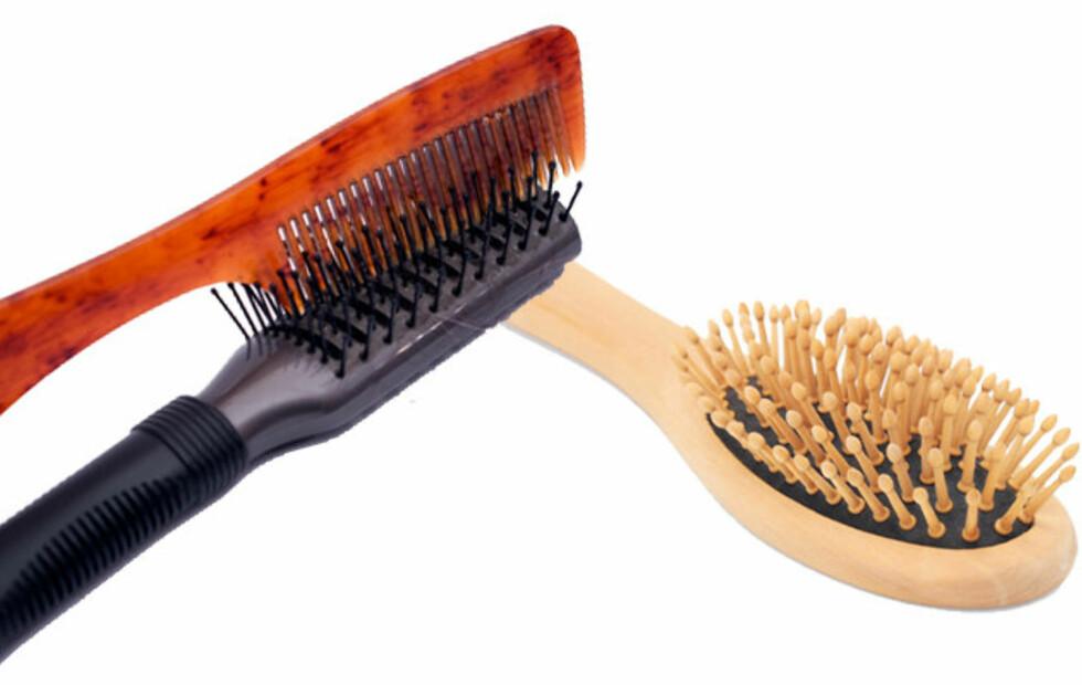 MÅ VASKES: Ellers florerer bakteriene – og du får fortere fett hår. Foto: Colourbox