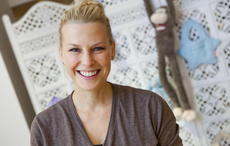 """<strong>SPREK:</strong> TV-profil, modell og yogainstruktør Vibeke Klemetsen er for tiden gravid med sitt tredje barn. Det hindret imidlertid ikke den spreke 35-åringen i å delta i programmet """"71 grader nord - Norges tøffeste kjendis"""".  Foto: Per Ervland"""
